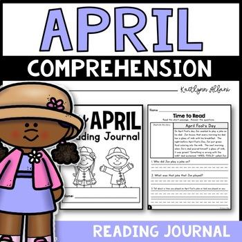 April Reading Comprehension Passages - Journal