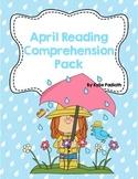 April Reading Comprehension Pack