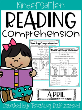 April Reading Comprehension Read and Match