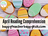 April Reading Comprehension: Spring, Bunnies, Easter