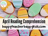 April Reading Comprehension: Spring, Bunnies, Easter