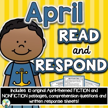 April Reading Comprehension & Written Response