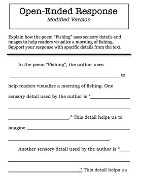 April Reading Homework and Test Preparation