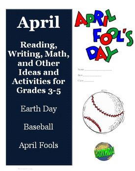 April Reading Writing Math Ideas and Activities for Grades 3, 4, 5