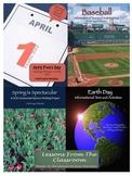 April Reading, Writing and Activities Bundle