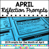 April Reflection Prompt Cards