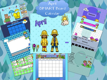 April SMART Board Calendar