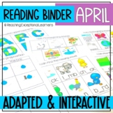April SPED Reading Adapted Binder