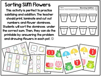 April {SPRING} Math Centers for Kindergarten