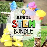 April STEM Activities and Easter STEM Challenges Bundle