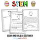 April STEM Challenge: Egg Tower - NGSS Aligned