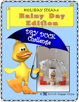April STEM STEAM Challenge: Rainy Day Edition