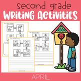April Second Grade Writing Activities