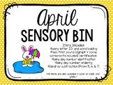 April Sensory Bins