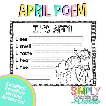 April Sensory Poem