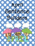 April Sentence Builders