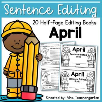 April Sentence Editing