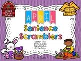 April Sentence Scramblers