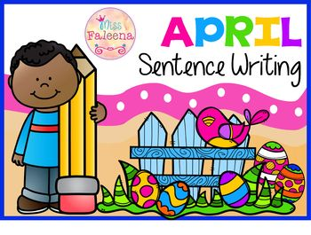 April Sentence Writing