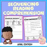 April Sequencing Reading Comprehension