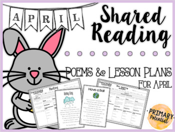 April Shared Reading: Poems and Lesson Plans