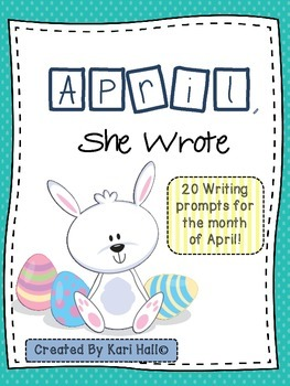 April, She Wrote! My April Writing Journal {20 prompts}