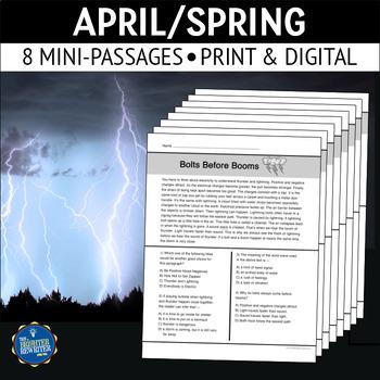 April Reading Passages