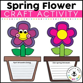 April Shower Bring May Flowers Craftivity
