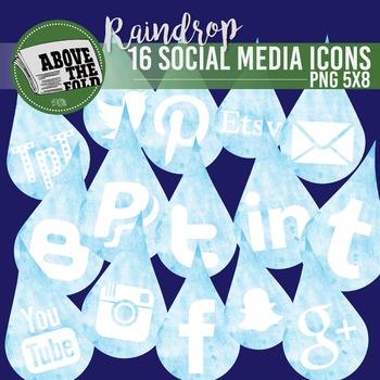 FREE - April Shower Social Media Icons