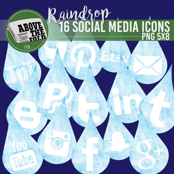 FREE - April Shower Social Media Icons