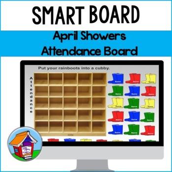 April Showers Attendance Board
