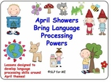 April Showers Bring Language Processing Powers - 9 Lessons