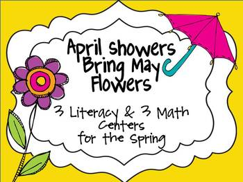 April Showers Bring May Flowers {6 Springtime Centers}