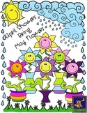 Spring Clip Art: April Showers Bring May Flowers