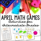 April Math Games + Activities