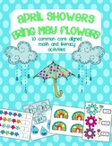April Showers Bring May Flowers--Math & Literacy Combined