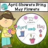 April Showers Bring May Flowers Wheel Craft