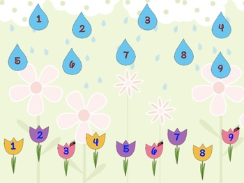 April Showers Bring May Flowers: ti-tom & fa game