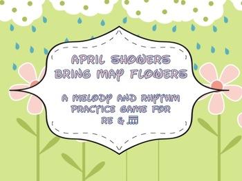 April Showers Bring May Flowers: tika-tika & re game