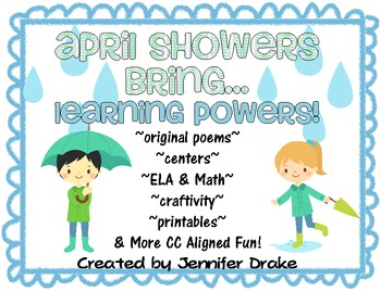 April Showers Bring...Learning Powers!  Super Pack of 'Rain' Inspired Fun!