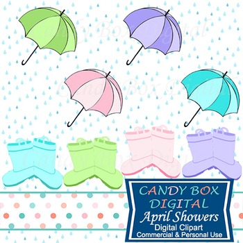 April Showers Clip Art