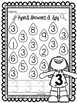April Showers I Spy Numbers 1-10