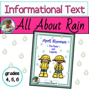 April Showers, Fun Facts & Legends: Informational Text Passages & Printables