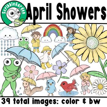 April Showers ClipArt