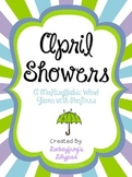 April Showers! Multisyllabic Words with Prefixes Decoding/ Fluency Game