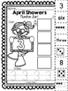 April Showers Number Sort 1-10