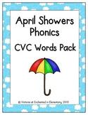 April Showers Phonics: CVC Words Pack