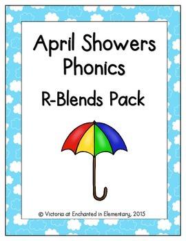 April Showers Phonics: R-Blends Pack