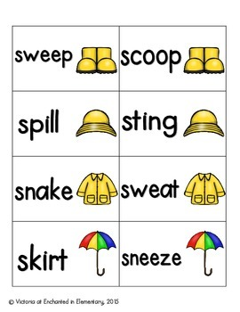 April Showers Phonics: S-Blends Pack