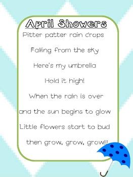 April Showers Poem